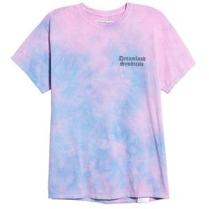 DREAMLAND SYNDICATE LAVA TIE DYE TEE
